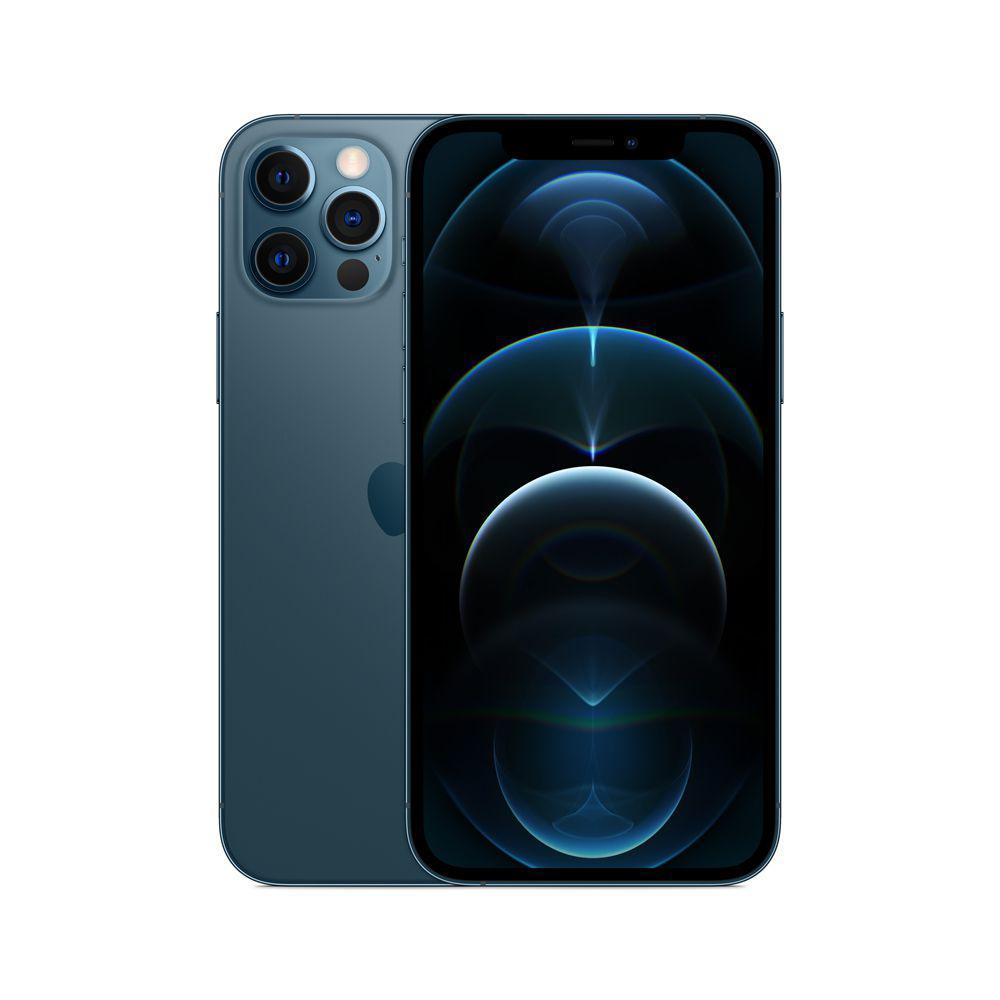 iPhone 12 Pro Max, Azul Pacífico com Tela de 6,7
