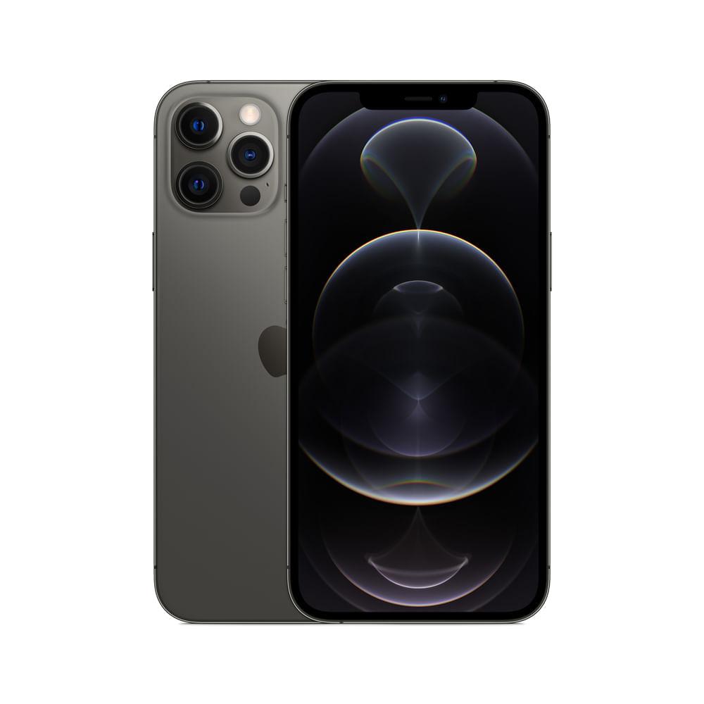 iPhone 12 Pro Max, Grafite, com Tela de 6,7