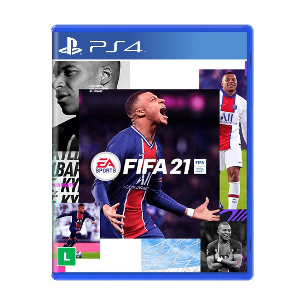 Jogo FIFA 21 Electronic Arts / Blu-Ray - PS4