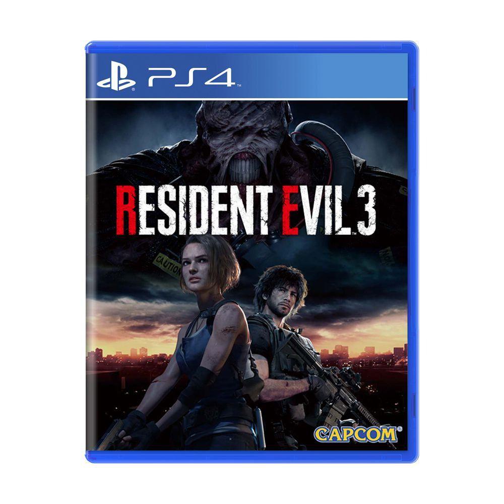 Jogo Resident Evil 3 Remake ? PS4