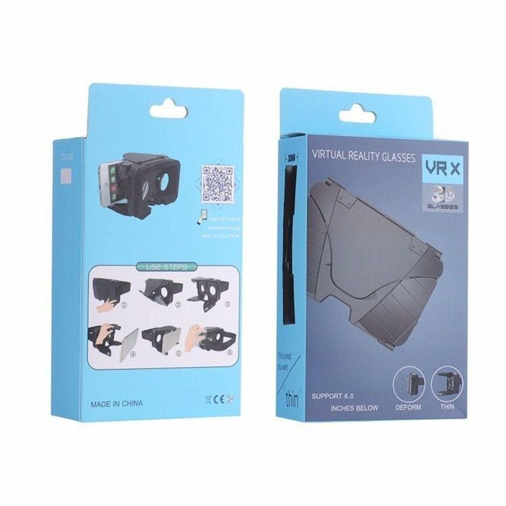 Kit Oculos 3d Realidade Virtual + Controle  - Vrx