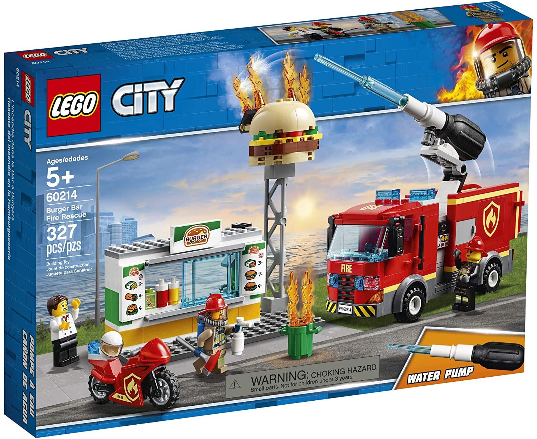 Lego City - Combate ao Fogo no Bar de Hambúrgueres #60214