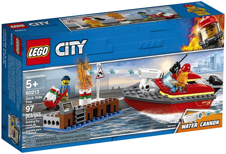 Lego City Incêncio Na Doca #60213 (97 Peças)
