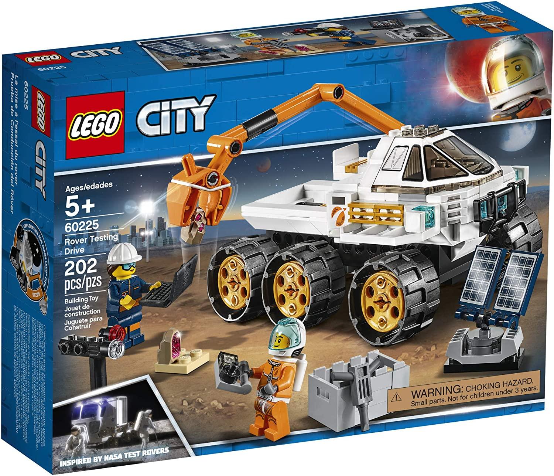 Lego City - Teste de Condução de Carro Lunar #60225