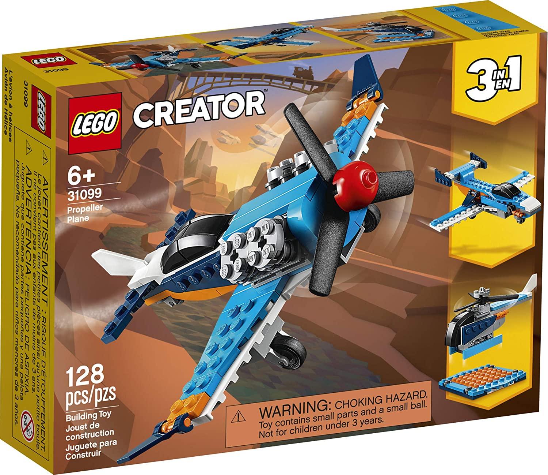 Lego Creator Avião De Hélice 3 Em 1 #31099 (128 Peças)