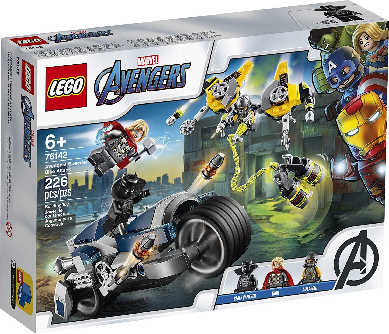 LEGO Marvel Super Heroes - Ataque dos Vingadores em Speeder Bike #76142