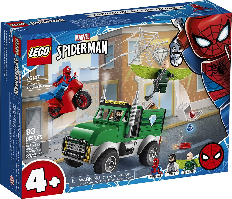 Lego Super Heroes Ataque ao Caminhão de Vulture #76147