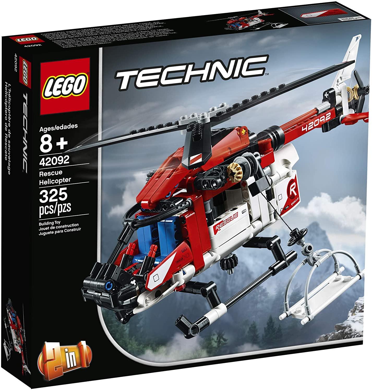 Lego Technic Helicóptero do Salvamento #42092
