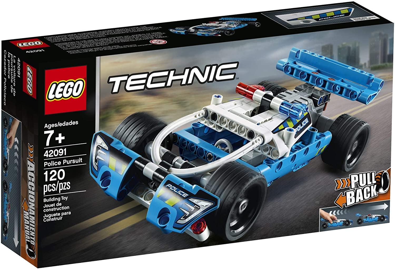 Lego Technic - Perseguição Policial (120 peças) #42091