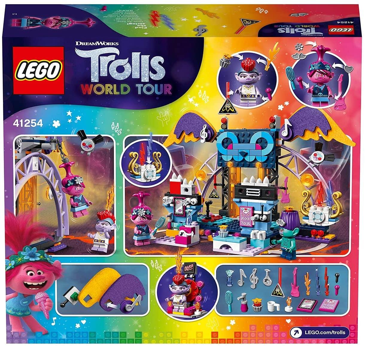 Lego Trolls 2 Concerto Vulcão Rock City #41254
