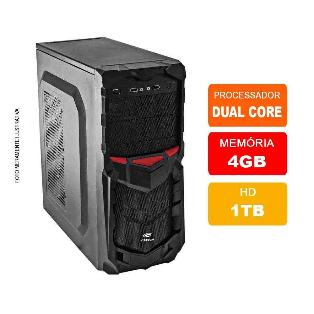 Microcomputador Intel Dual Core 2.4ghz 4gb 500hd