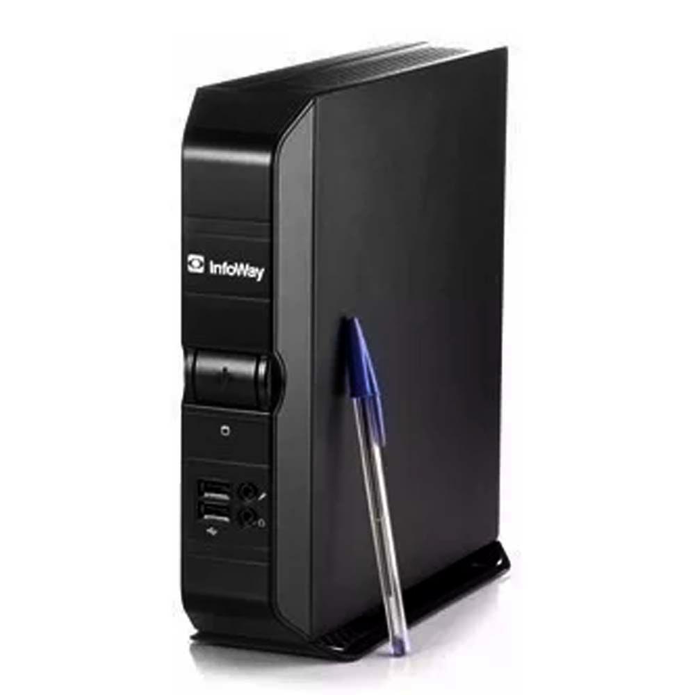 Mini Computador Itautec Infoway Atom N270 1.6ghz 2gb Ram Hd 750gb Semi Novo