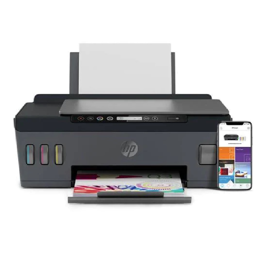 Multifuncional Colorida Tanque de tinta Smart Tank 517 1TJ10A W-FI , 22ppm Color, Wi-fi, Conexão USB, Bivolt - HP CX 1 UN - HP
