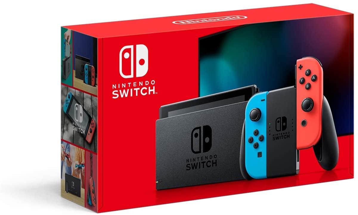 Nintendo Switch Controle Joy-Con - Vermelho e Azul