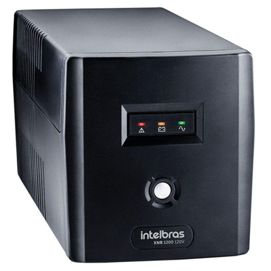 Nobreak Interactive,  XNB 720 120V, Preto - Intelbrás