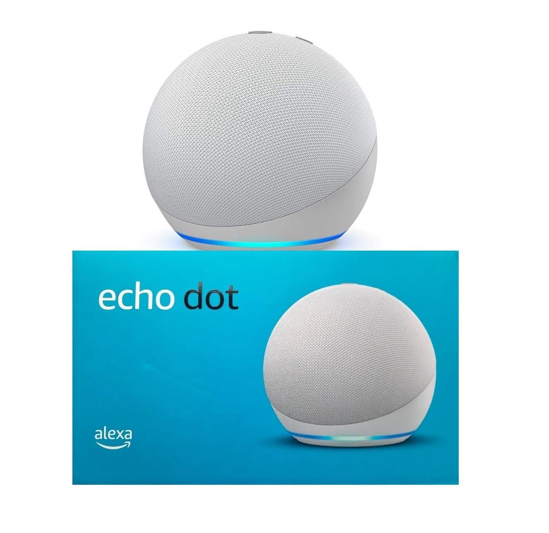 Novo Echo Dot Smart Speaker Com Alexa (4ª Geração)  Branco - Amazon