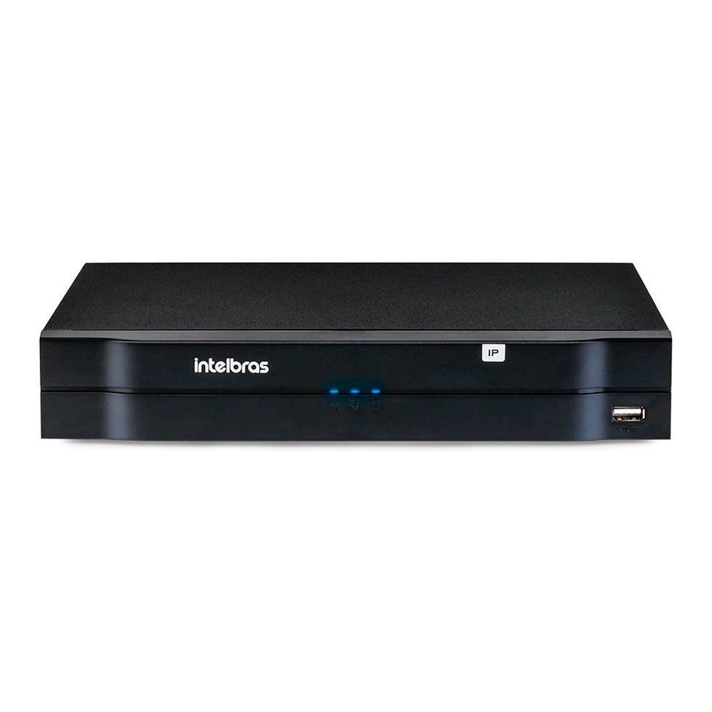 NVR Stand Alone 08 Canais 2MP Full HD 1080p Intelbras NVD 1208