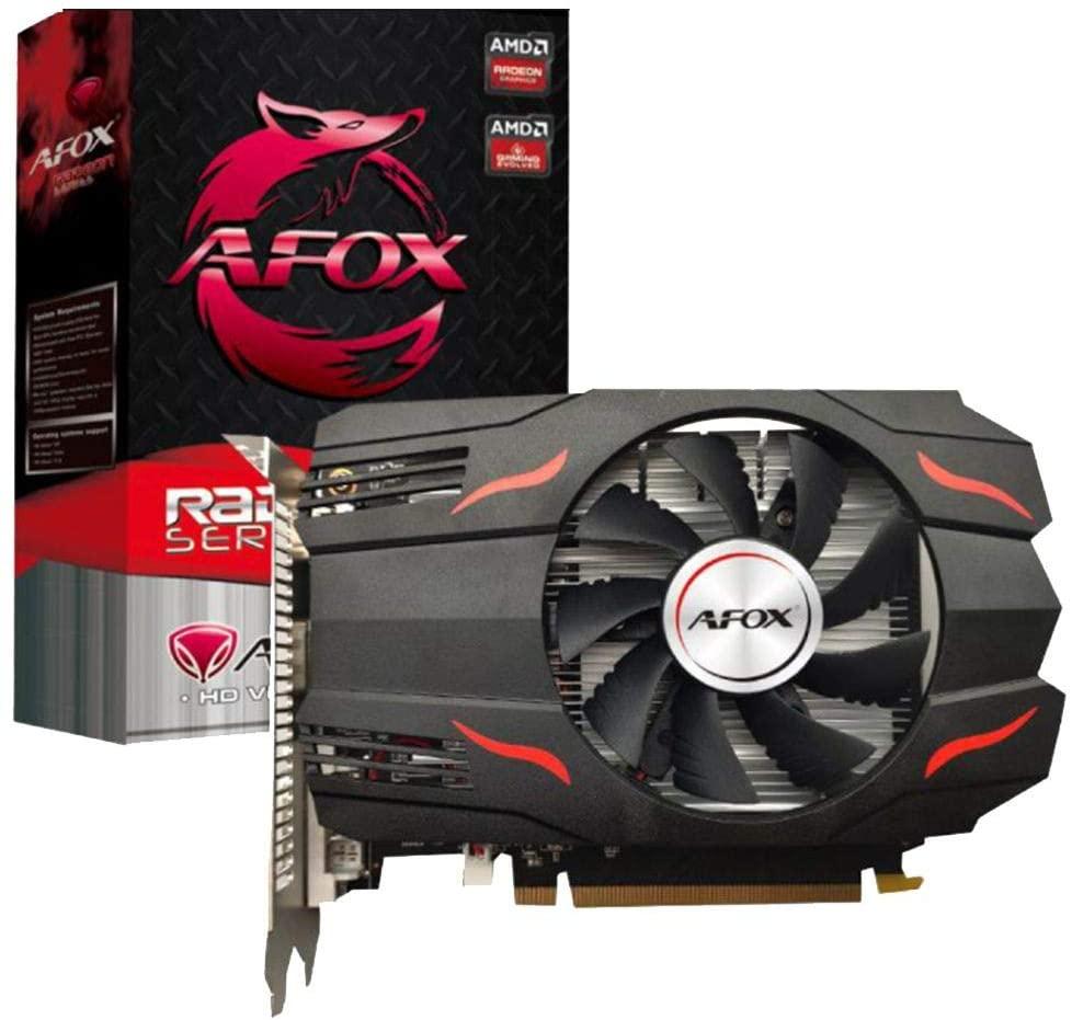Placa de Vídeo Afox AMD Radeon RX 550 2GB GDDR5 - AFRX550-2048D5H3