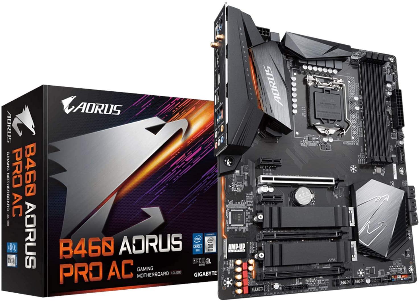 Placa mãe B460 Aorus Pro AC intel LGA1200 Atx ddr4 Gigabyte 1200 Wifi