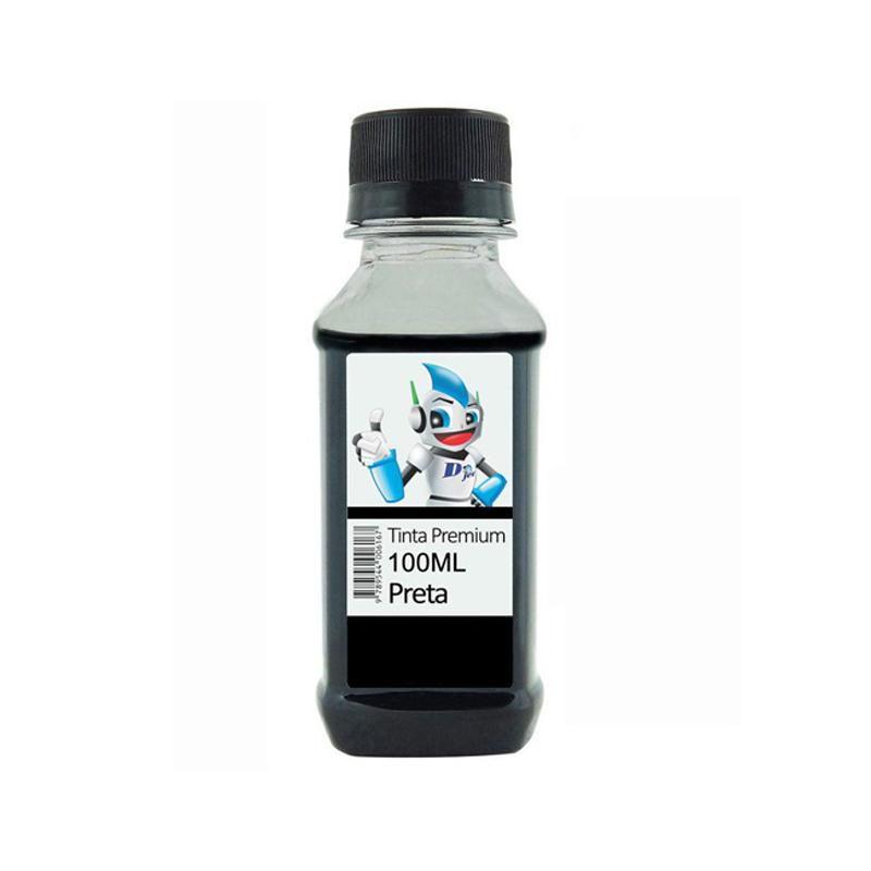 Refil de Tinta Compatível Epson 664 (T664120) Preta 100ml