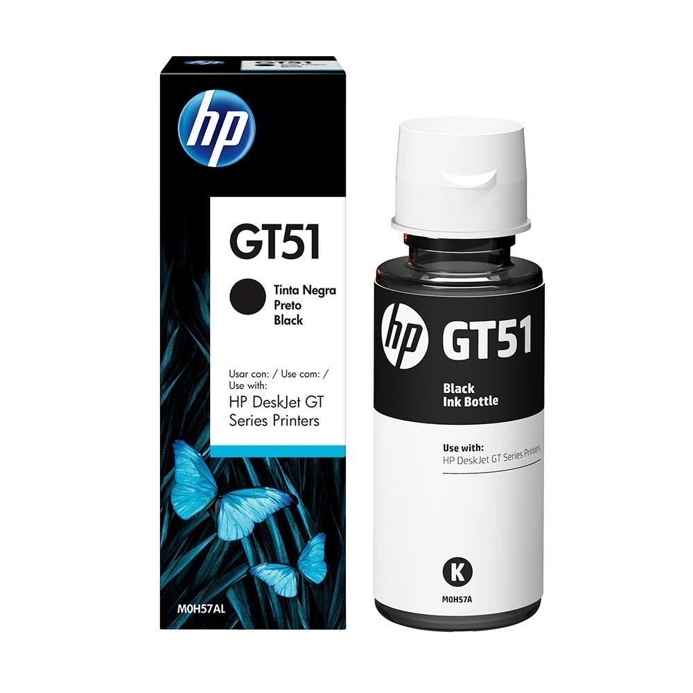 Refil de Tinta Original HP Gt51 ( M0h57) Preto 90ml