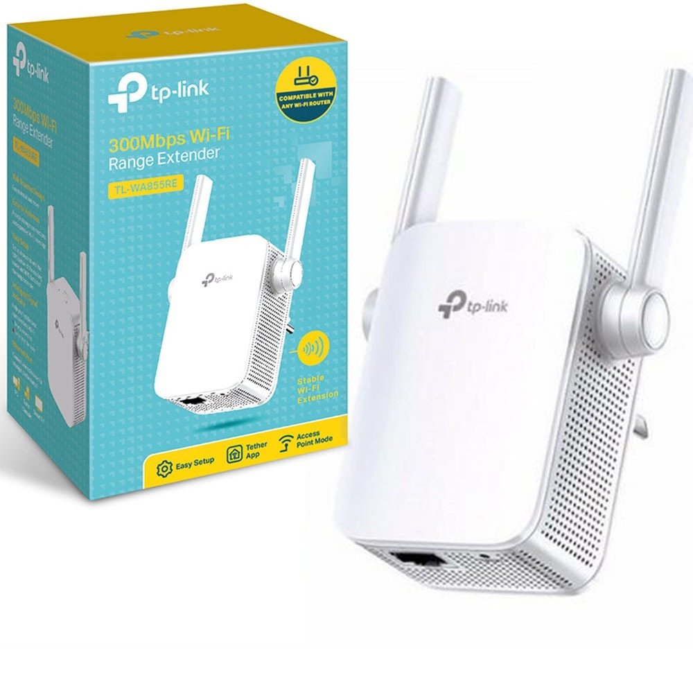 Repetidor Wi-Fi 300mbps Tl-Wa855re -  Tp-Link