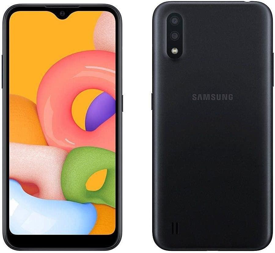 Smartphone Galaxy A01 32gb Tela Infinita 5,7' ? 2GB de RAM - Câmera Dupla Traseira / Preto - Samsung