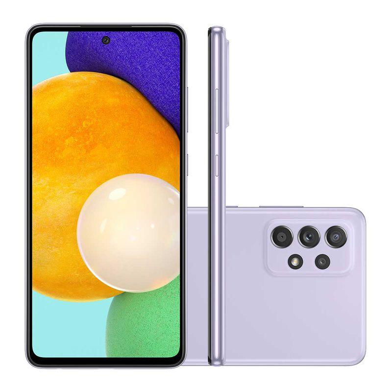 Smartphone Galaxy A52, Octa Core, 128GB, 6GB de Memória RAM, Câmera de 64MP, Tela de 6,5