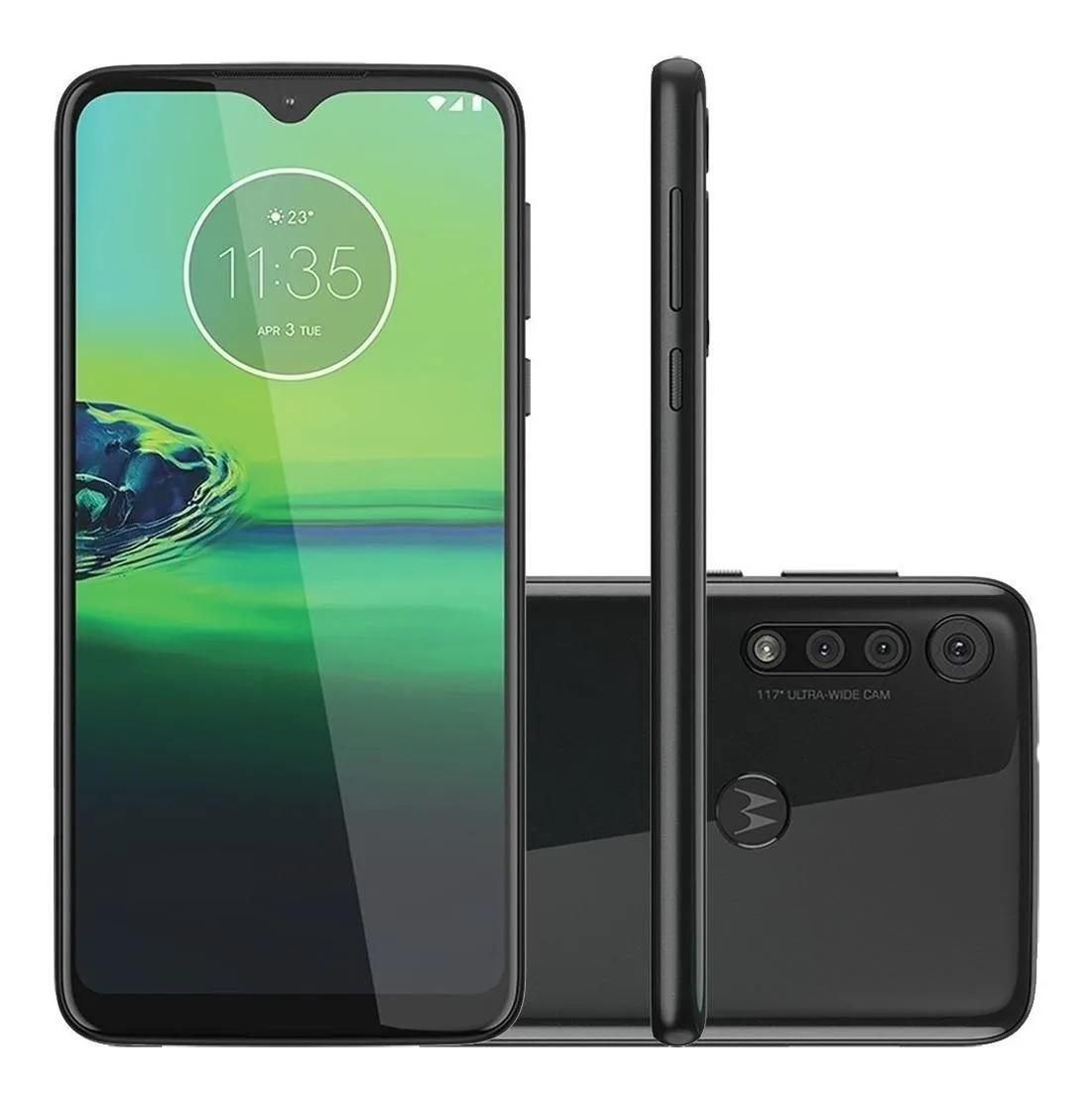 Smartphone Moto G8 Play Preto 64GB Tela 6.1