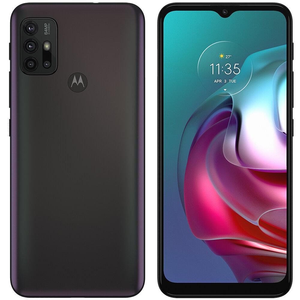 Smartphone Motorola Moto g30 128gb Dark Prism 4g - 4gb Ram Tela 6,5? câm. Quádrupla + Selfie 13mp