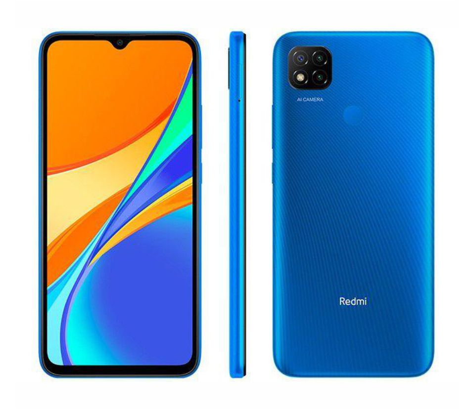 Smartphone Xiaomi Redmi 9C Dual Chip 64GB 3Gb RAM (Twilight Blue) Azul