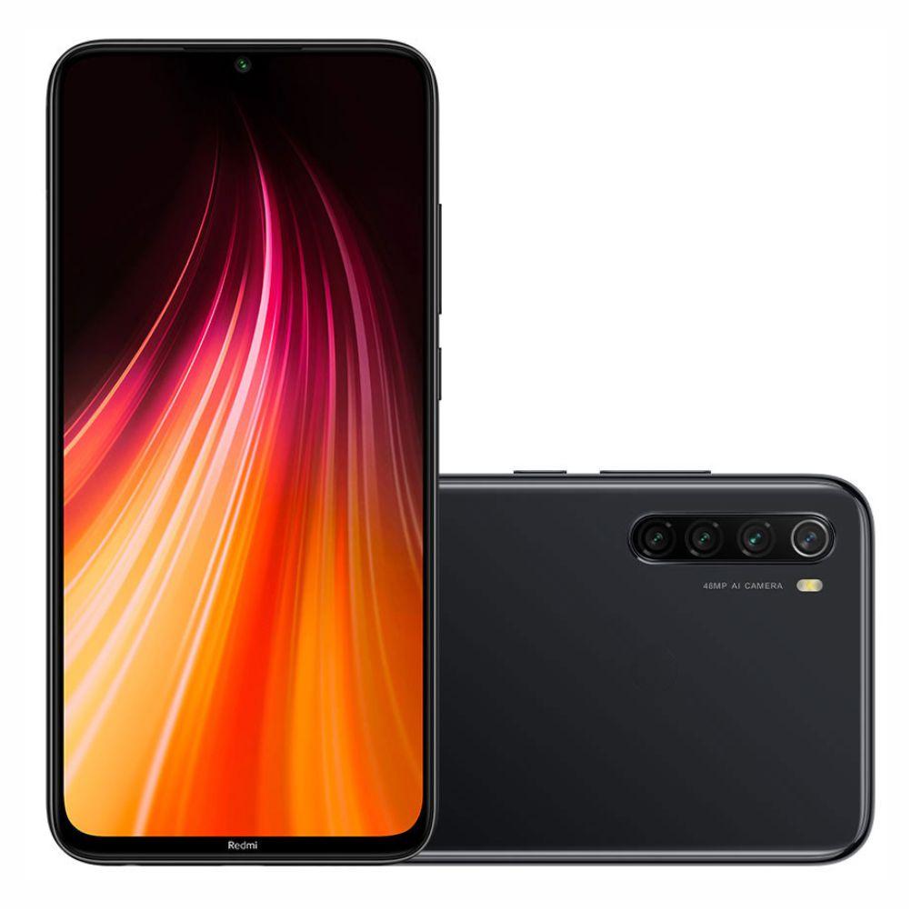 Smartphone Xiaomi Redmi Note 8 Dual Chip 64Gb 4Gb Ram  (Space Black) Preto