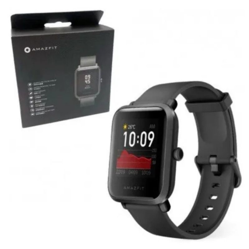 Smartwatch Amazfit Bip S (Carbon Black) Preto - Xiaomi
