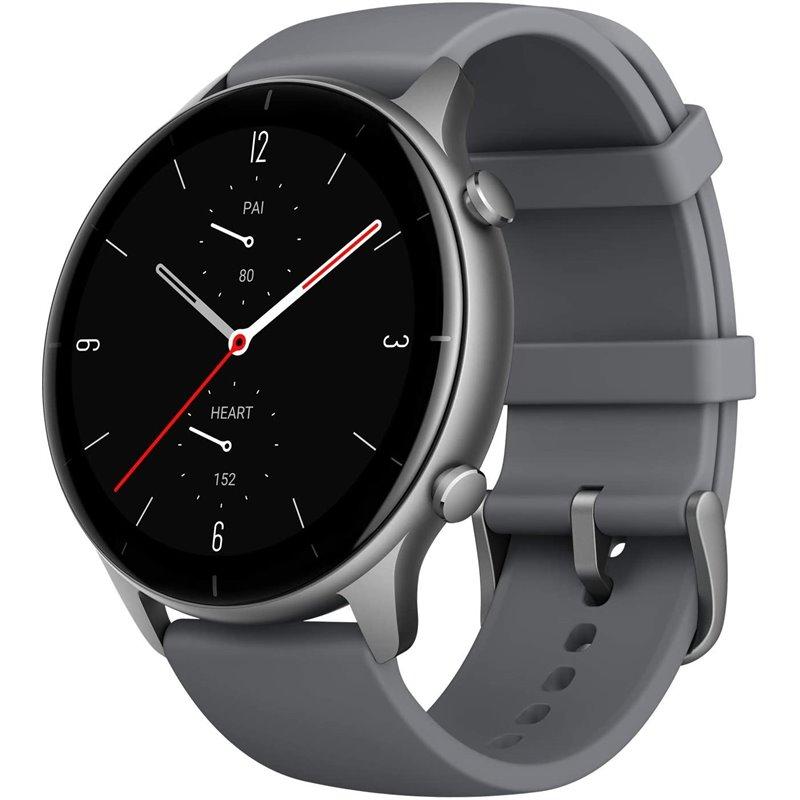 Smartwatch Smazfit Gtr Starry Black (42mm) Pulseira Slate Grey de Silicone - Xiaomi