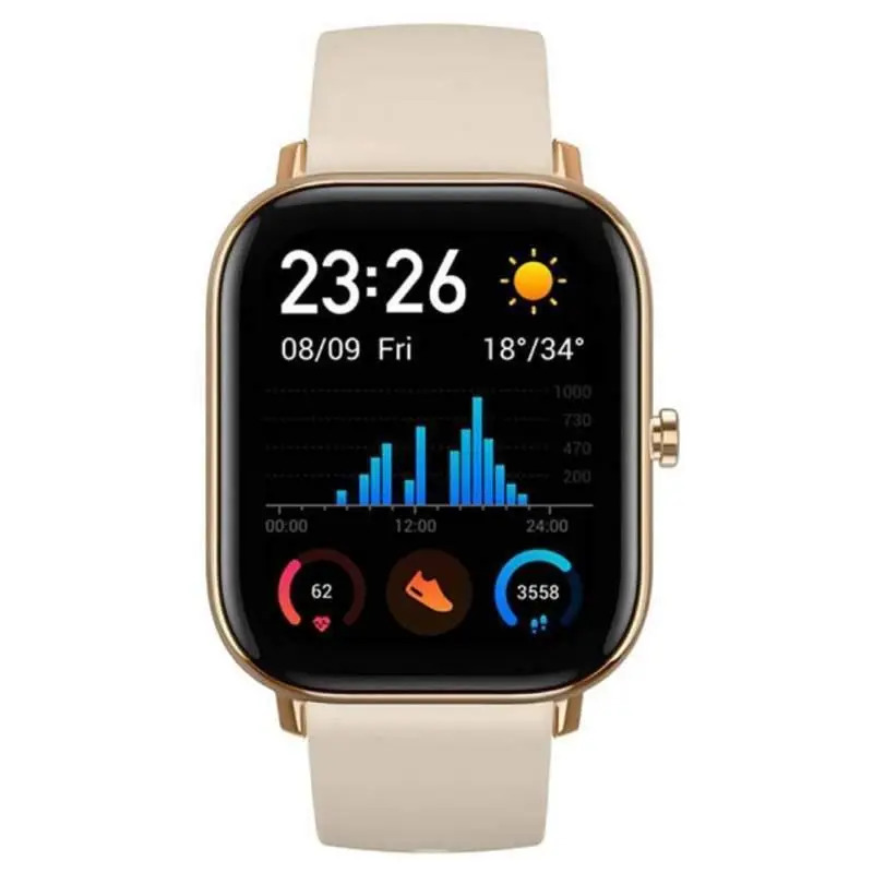 Smartwatch Xiaomi Amazfit Gts (Desert Gold) Dourado