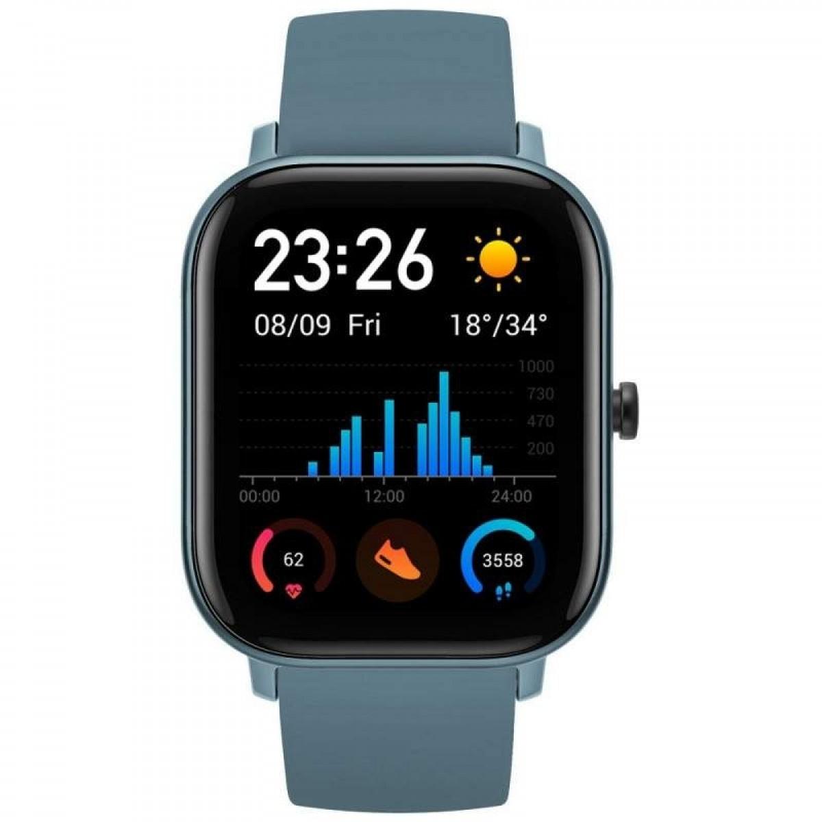 Smartwatch Xiaomi Amazfit GTS (Steel Blue) Azul