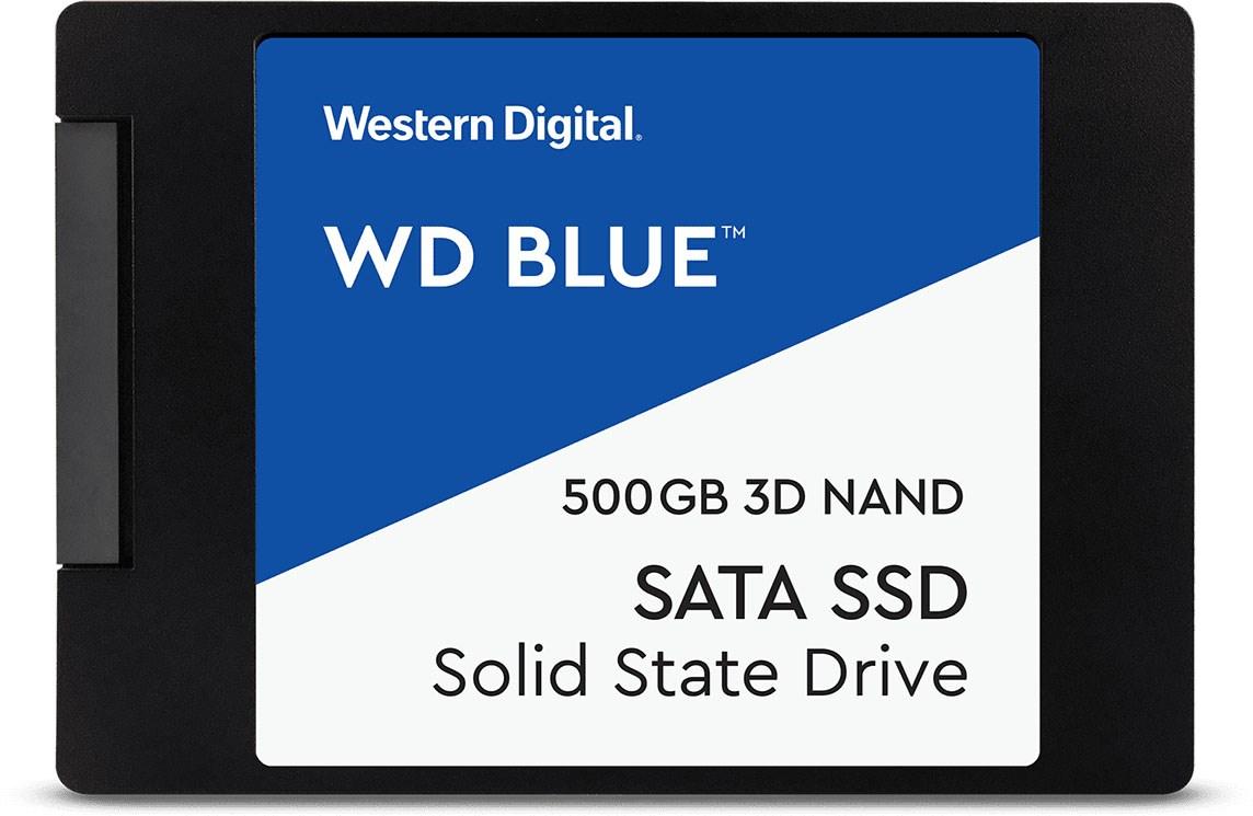 SSD WD Blue, 500GB, SATA, Leitura 560MB/s, Gravação 530MB/s WDS500G2B0A - Western Digital