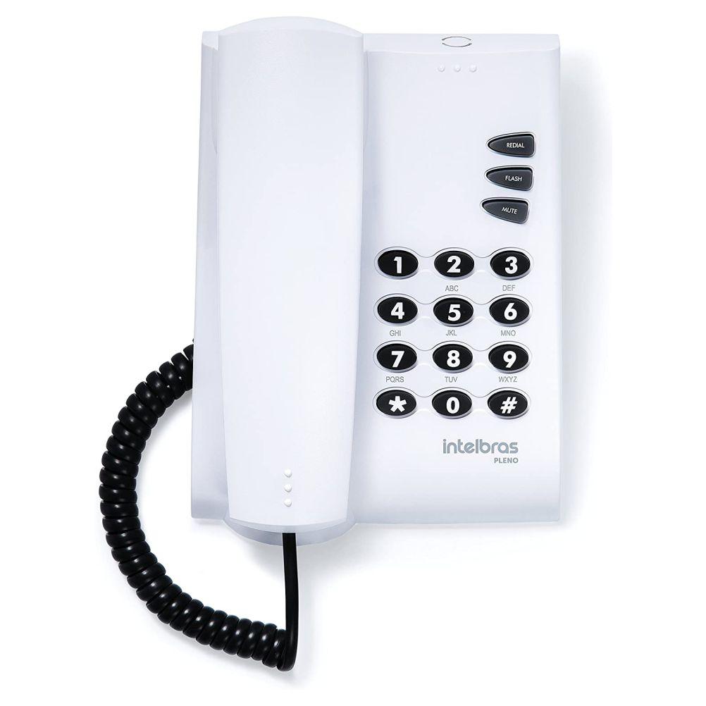 Telefone Pleno Cinza Artico com Chave - Intelbras