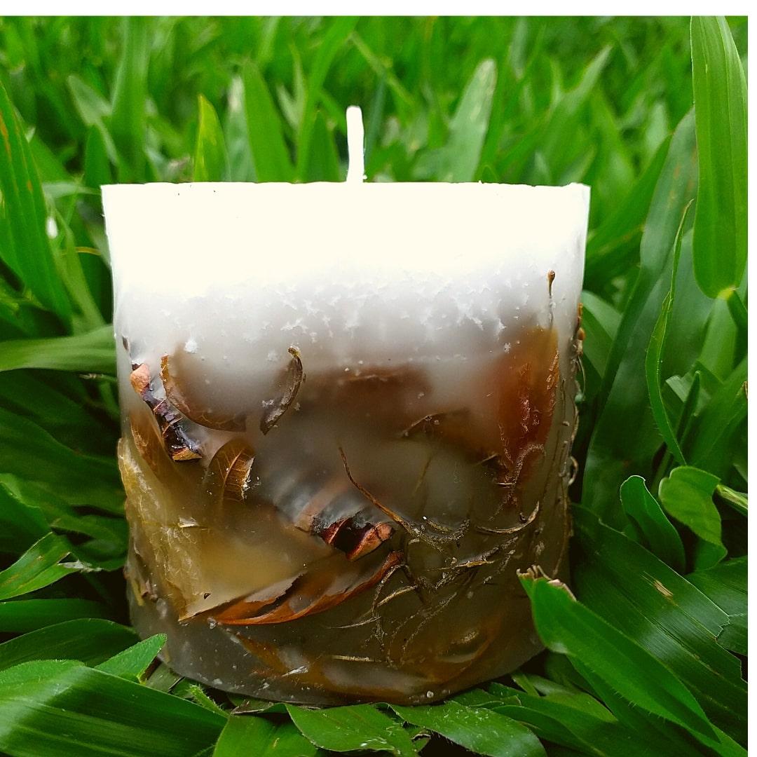 Vela Aromática de Bambu Caamanha