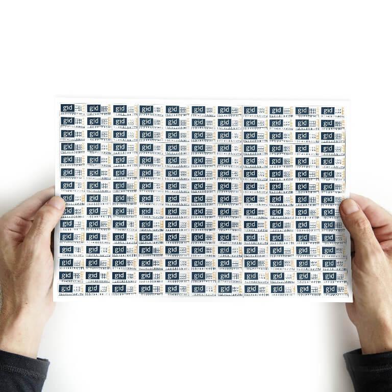 40.000 Lacres/selo De Garantia 2x1 Cm - Casca De Ovo