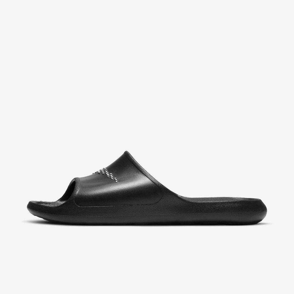 Chinelo Slide Nike Victori One Shower - Preto+Branco