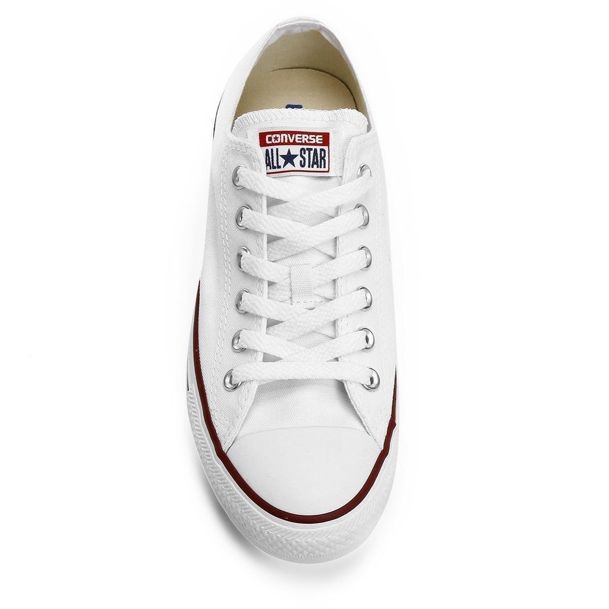 Tênis Converse All Star Ct As Core Ox - Off Branco+Vermelho