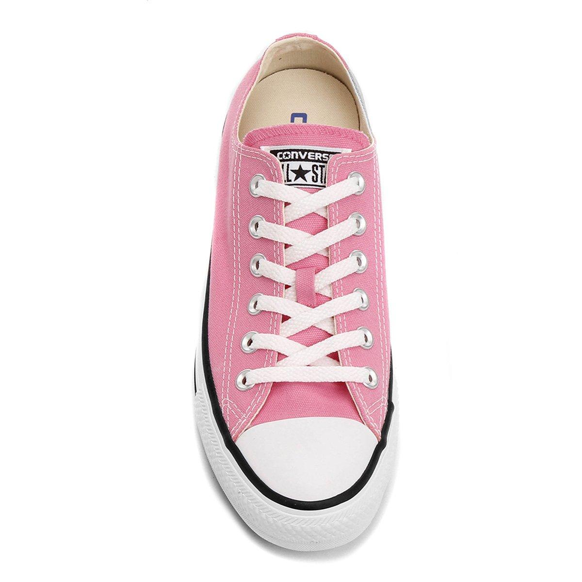 Tênis Converse All Star Ct As Core Ox - Rosa+Branco
