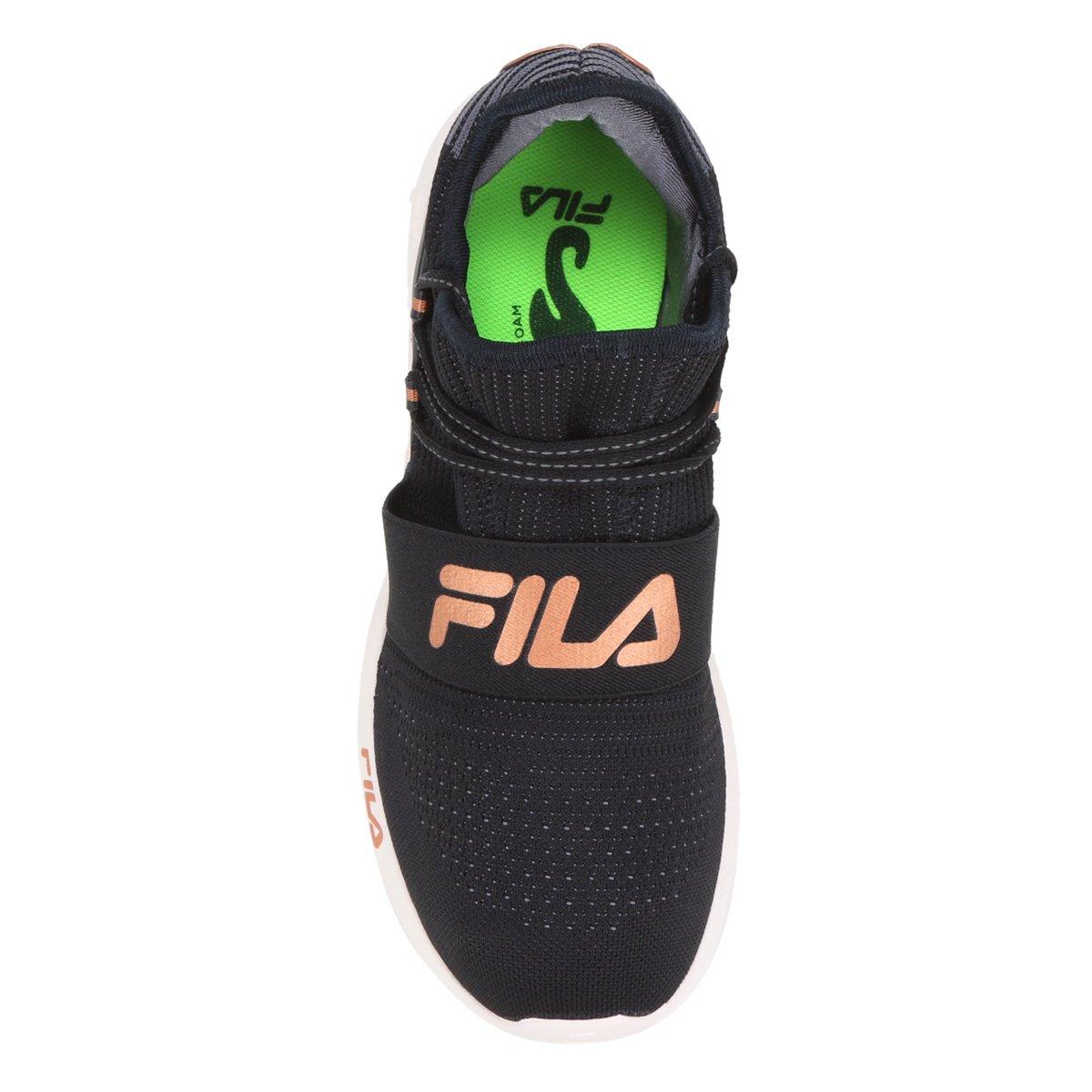 Tênis Fila Trend 2.0 Feminino - Preto+Grafite