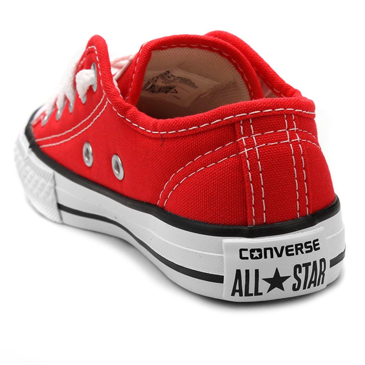 Tênis Infantil Converse All Star Chuck Taylor Border