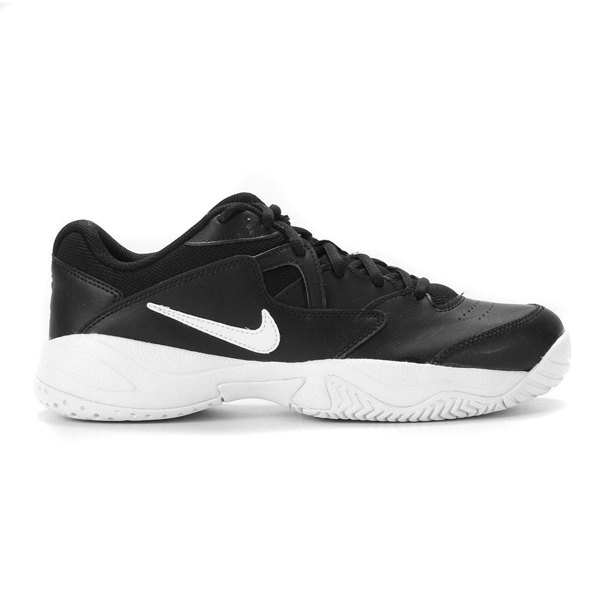 Tênis Nike Court Lite 2 Masculino - Preto+Branco