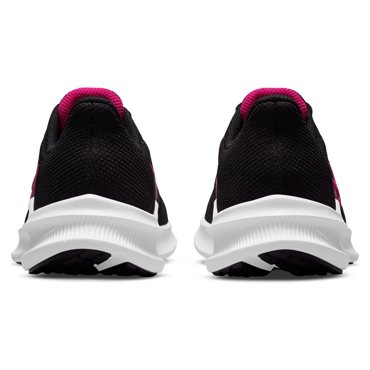 Tênis Nike Downshifter 11 Feminino Preto/Rosa