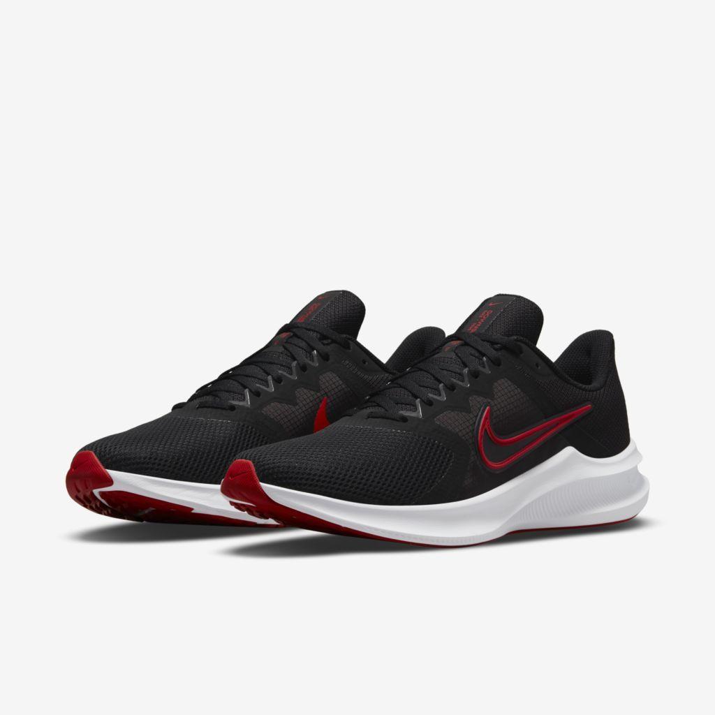 Tênis Nike Downshifter 11 Masculino PRETO+VERMELHO