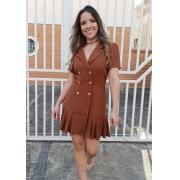 Vestido Shorts Linho