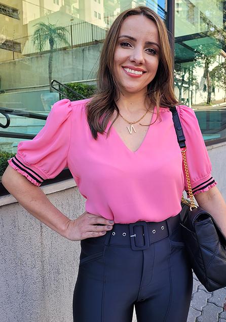 Blusa Crepe Dec V